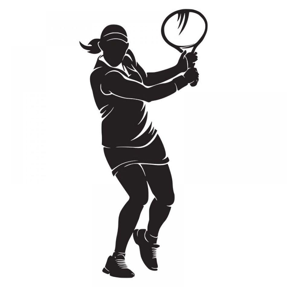 Наклейка Теннис