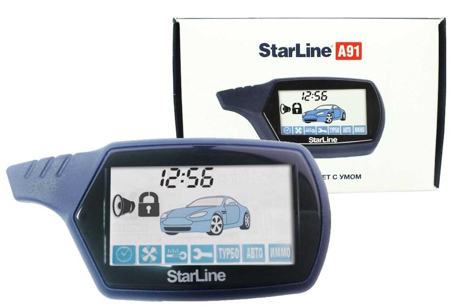 Брелок основной StarLine A91
