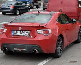 Автомобиль с польскими номерами