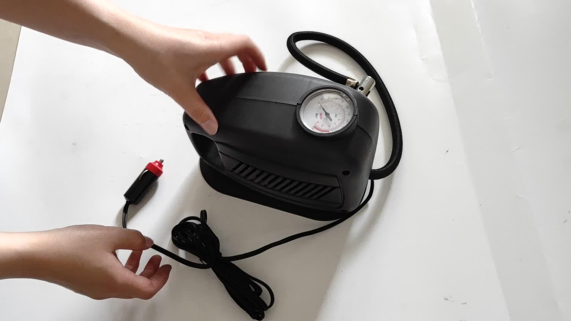 Автомобильный компрессор Car Air Pump