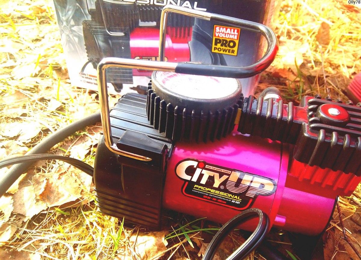 Автомобильный компрессор City Up