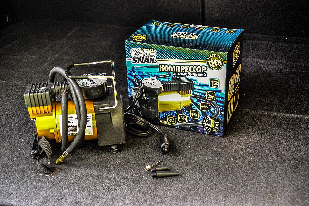 Автомобильный компрессор Golden Snail GS 9204