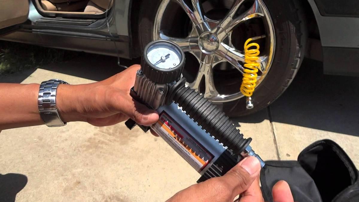 Автомобильный компрессор поршневой
