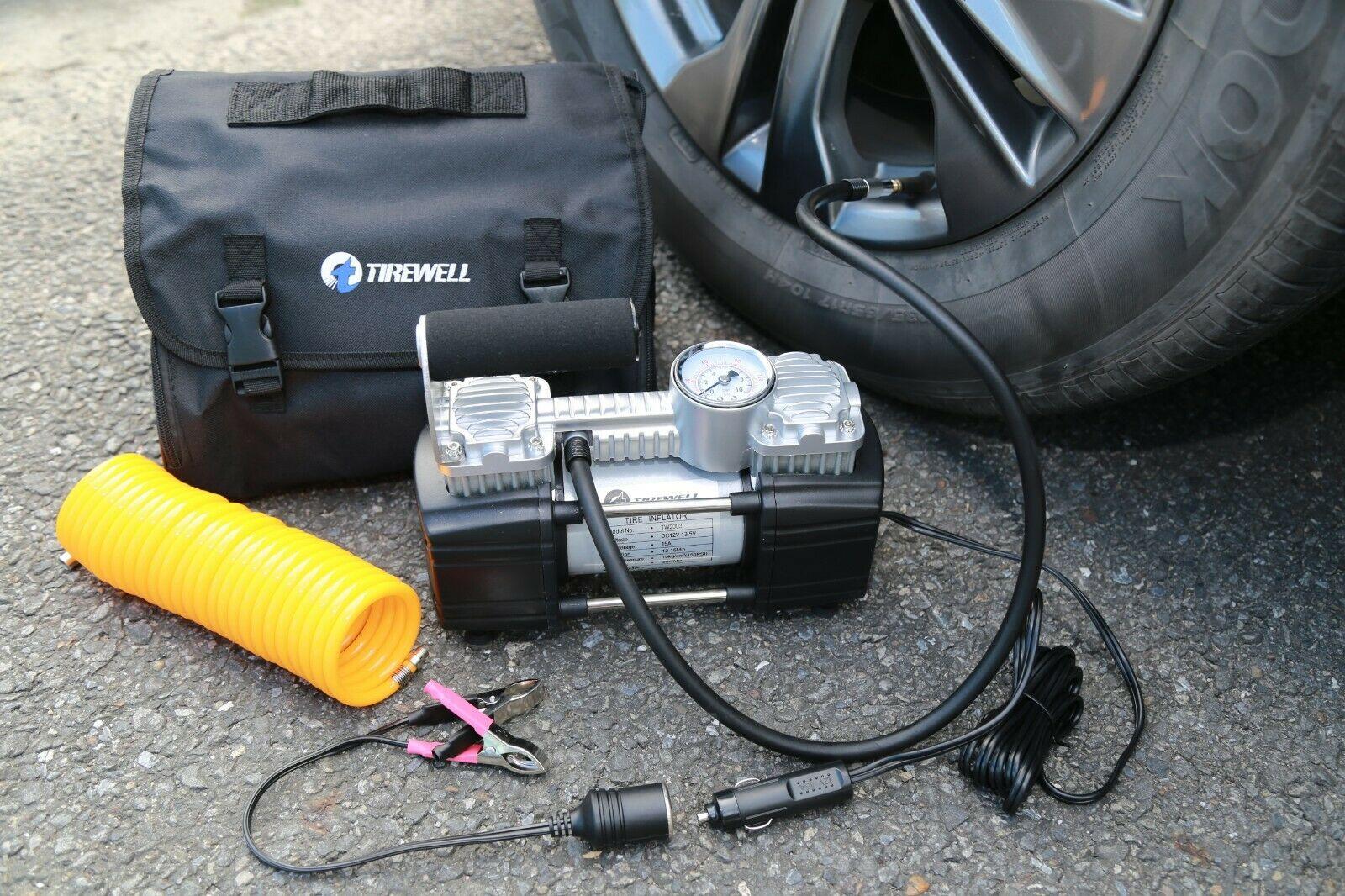Автомобильный компрессор TIREWELL 12V