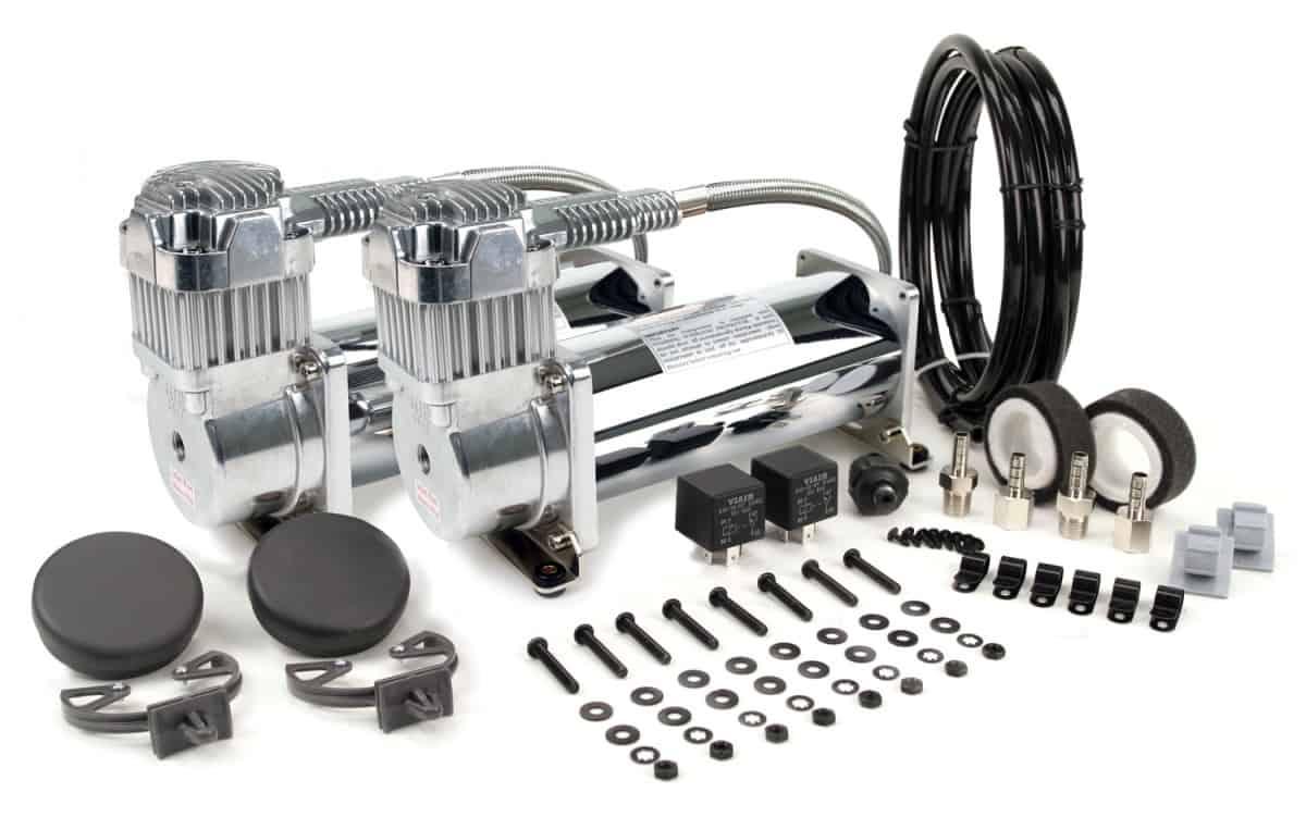 Автомобильный компрессор VIAIR 45053 Silver