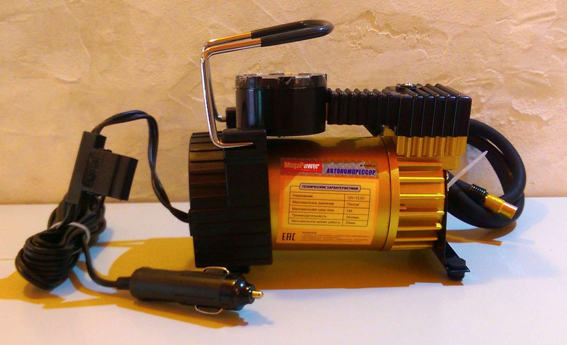 Автомобильный мощный компрессор MegaPower M-53600