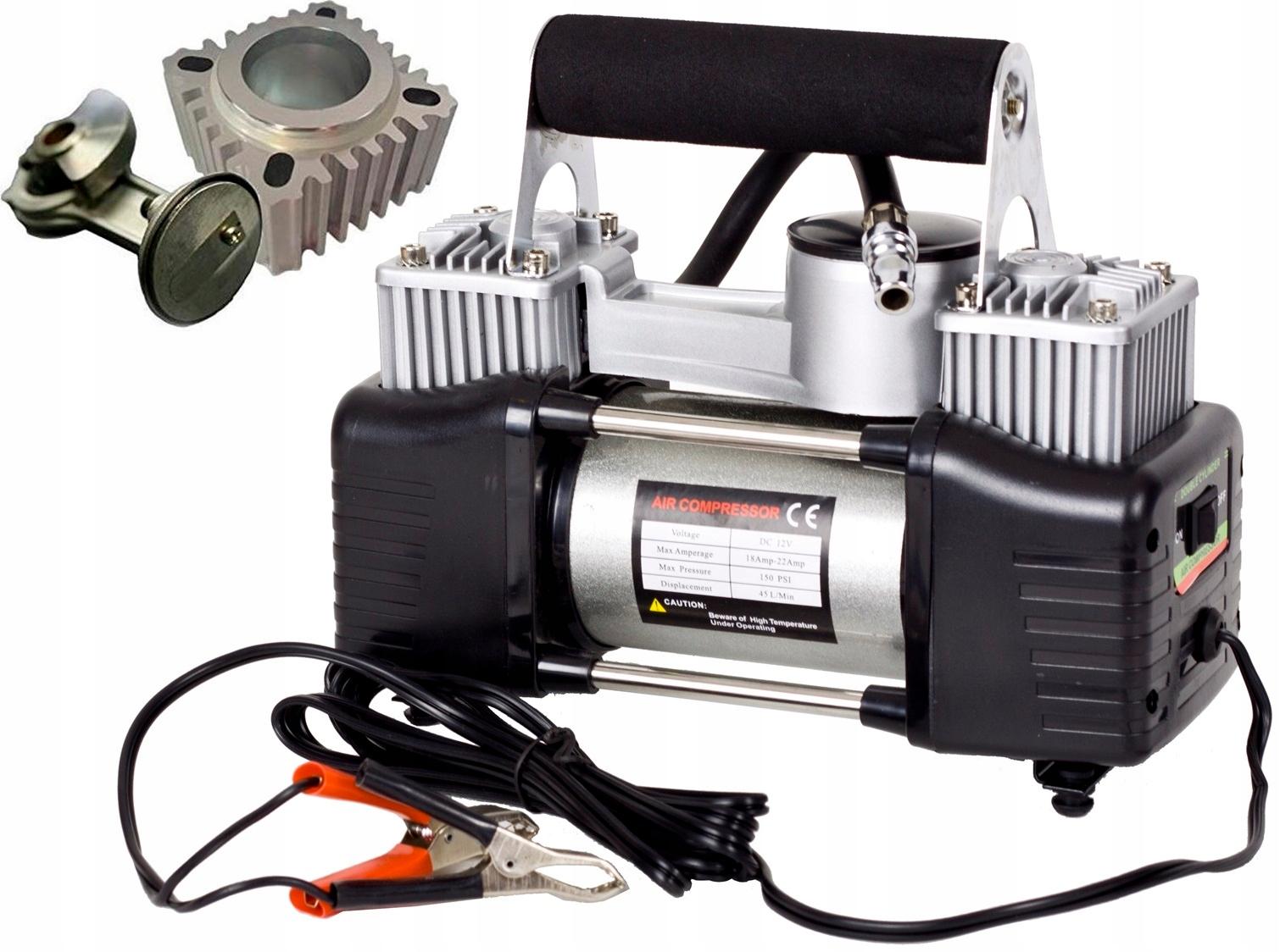 Автомобильный воздушный компрессор, 12В, 300 л/мин, 150 PSI