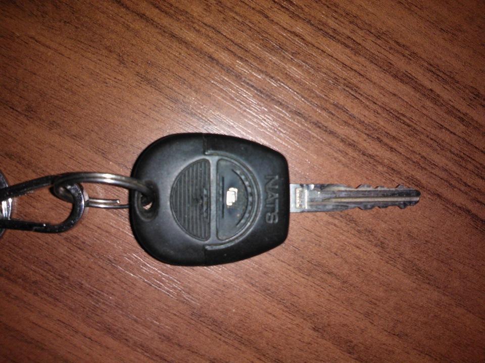 Добавление в память нового ключа