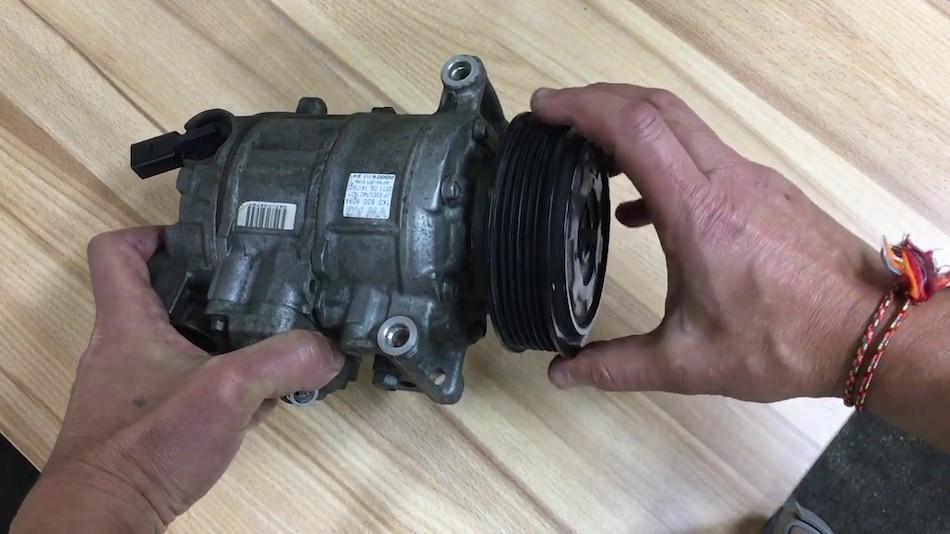 Как разобрать компрессор кондиционера