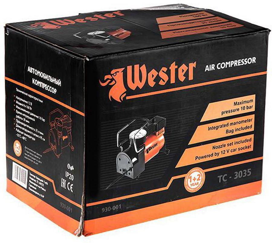 Компрессор автомобильный Wester TC-3035