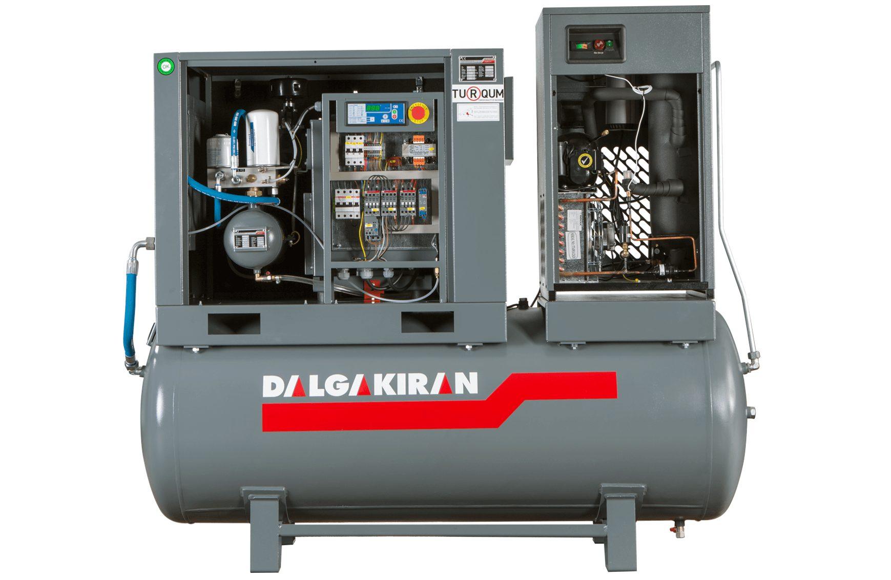 Компрессор масляный DALGAKIRAN Tidy 20-7.5-500, 500 л, 15 кВт