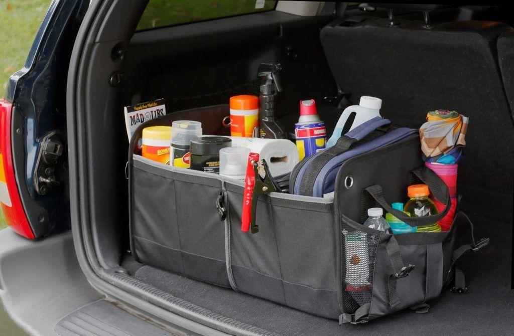 Органайзер в багажнике автомобиля