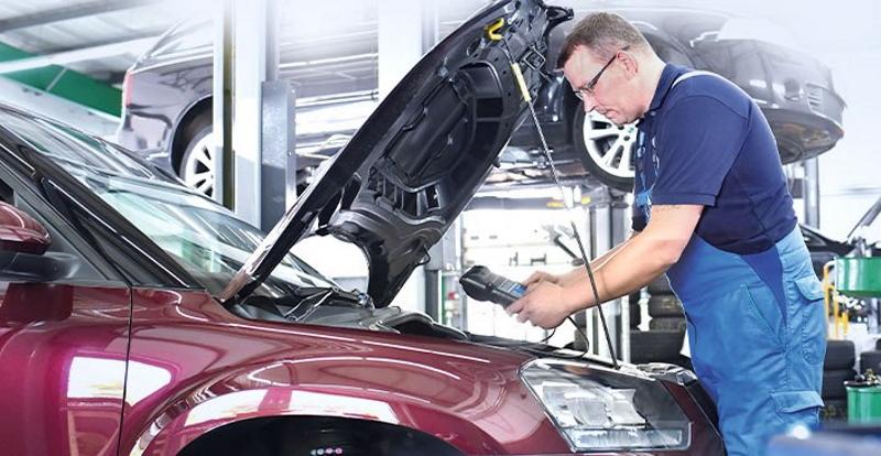 Осмотр технического состояния автомобиля