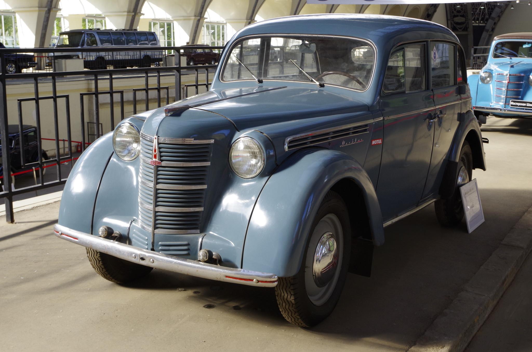 Первый русский народный автомобиль – «Москвич 400»