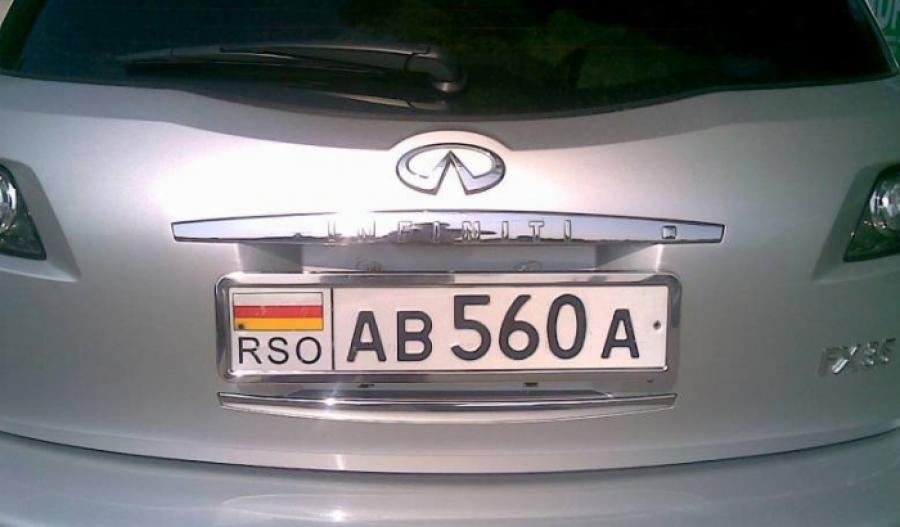 Регистрационные номера с RSO