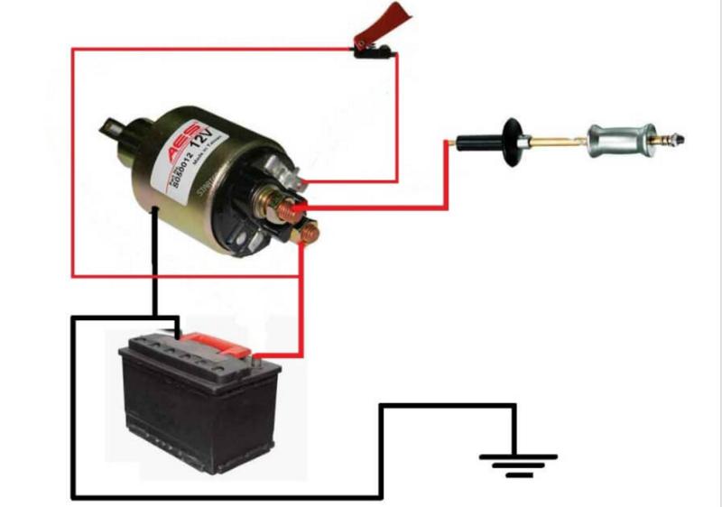 Схема споттера из аккумуляторной батареи