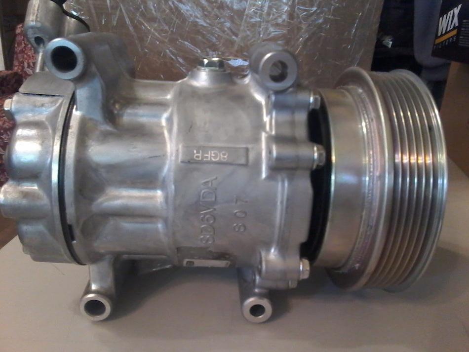 Внешний вид компрессора для кондиционера