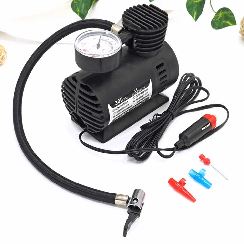 Воздушный компрессор автомобильный электрический насос 300 PSI 12 V мини