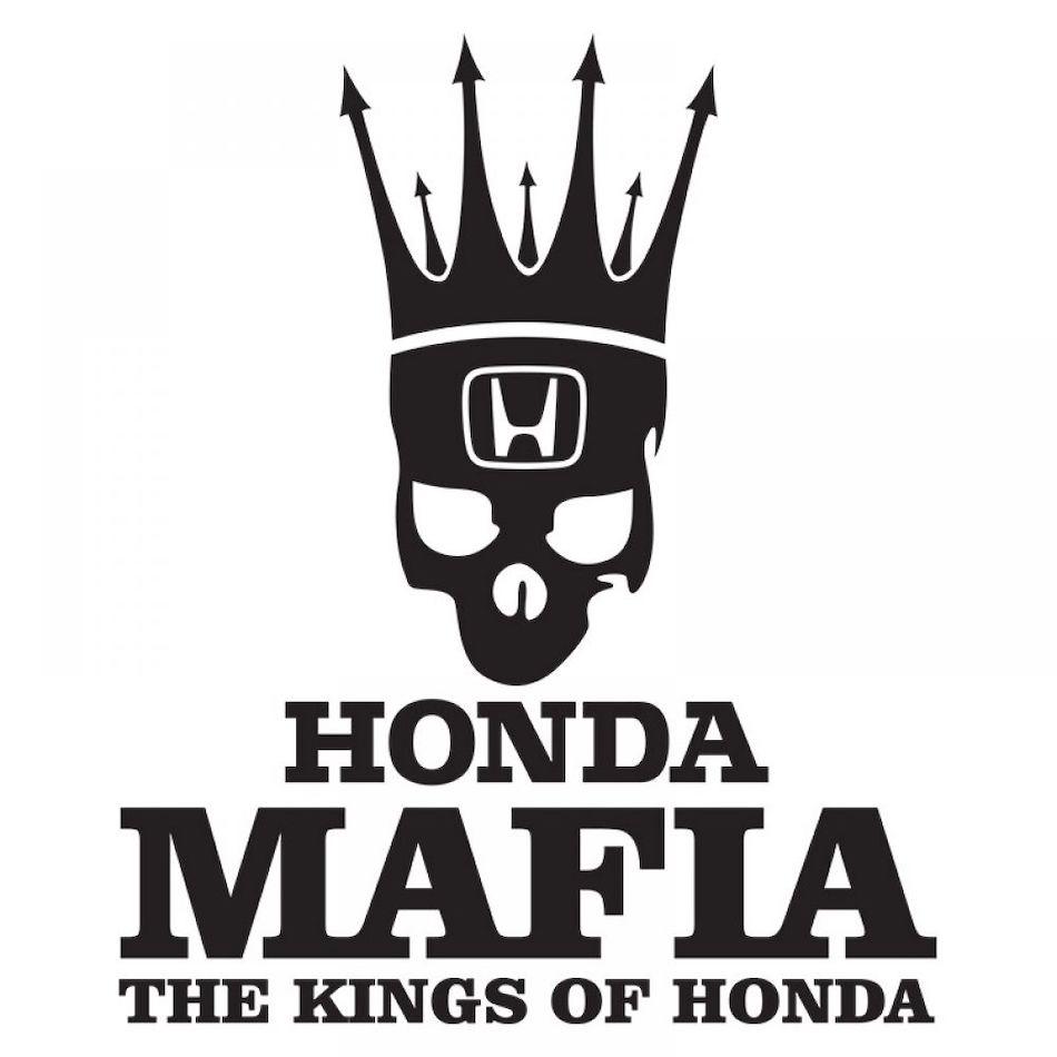 Наклейка на авто Honda - стикер