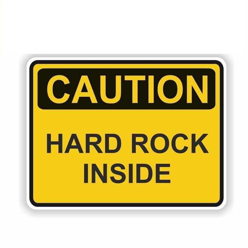 Наклейка на авто HARD ROCK