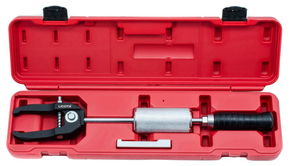 Набор съемник подшипников цанговый с обратным молотком АТА-0198А