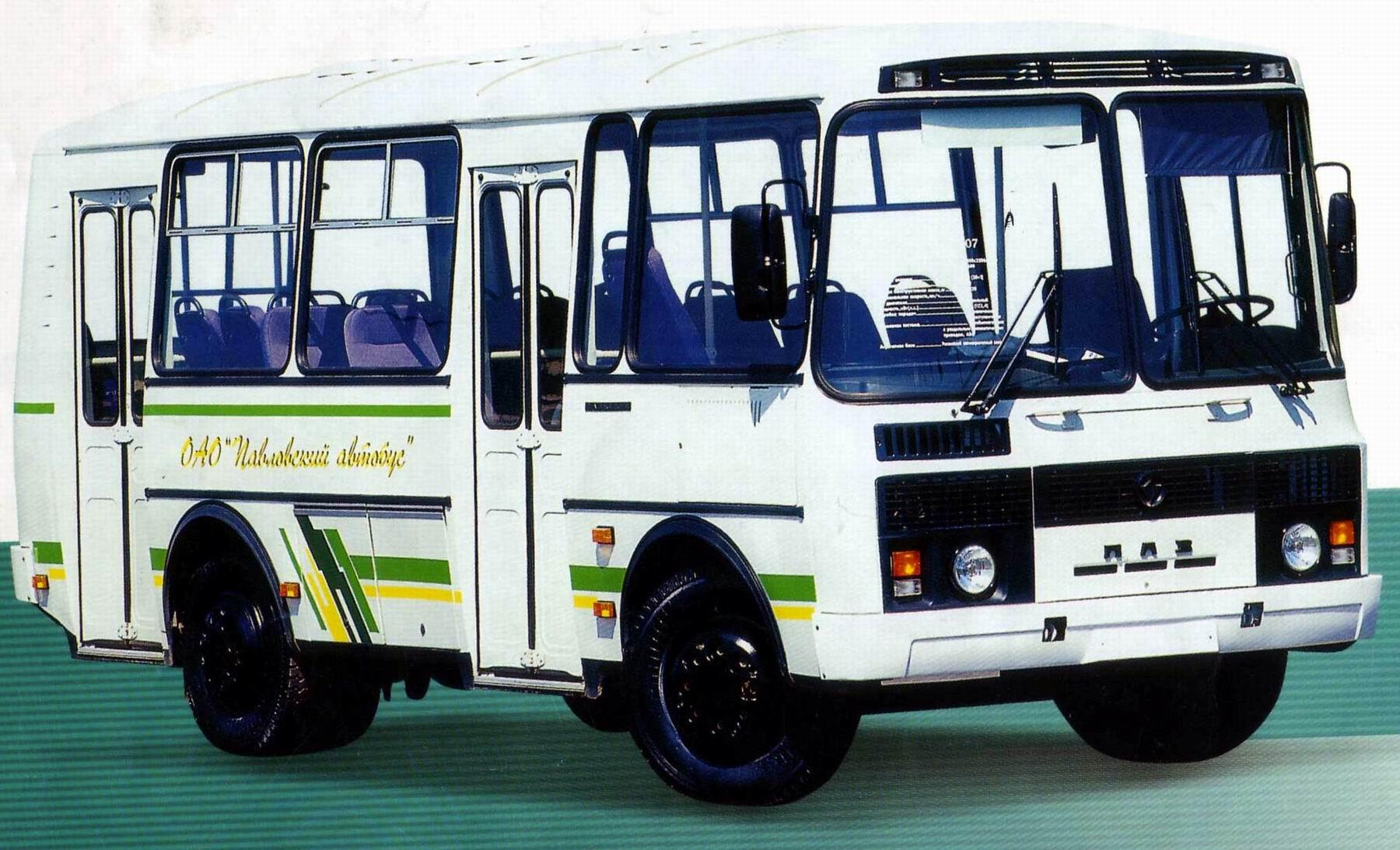 Автобус ПАЗ - расшифровка названия и история бренда