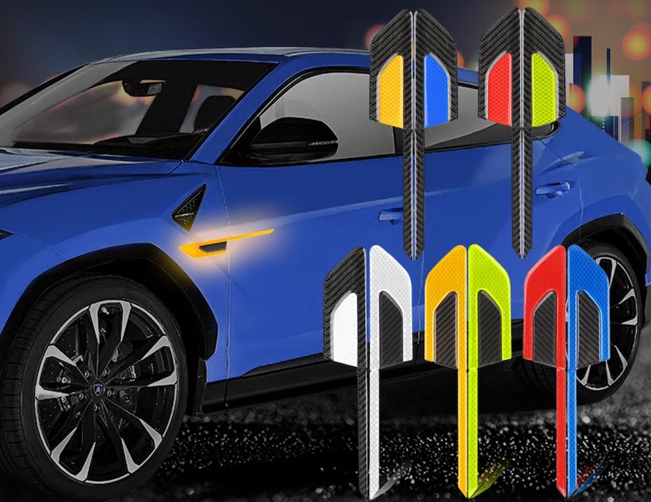 Автомобильные светоотражающие полосы 3D