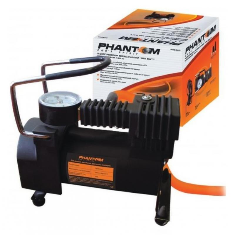 Автомобильный компрессор PHANTOM РН2032