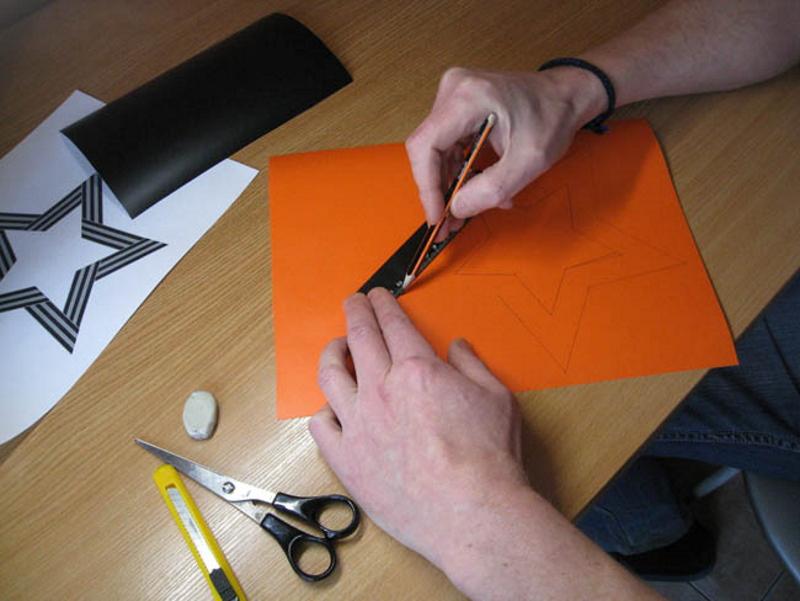 Изготовление наклейки своими руками