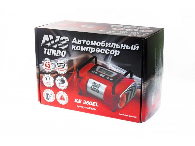 Компрессор автомобильный AVS Turbo