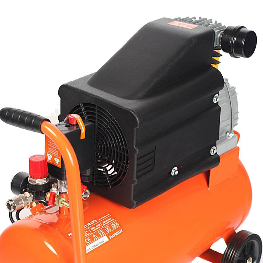Компрессор масляный PATRIOT Pro 24-260, 24 л, 1.8 кВт