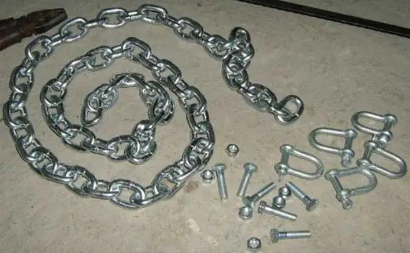 Материалы для изготовления цепей противоскольжения