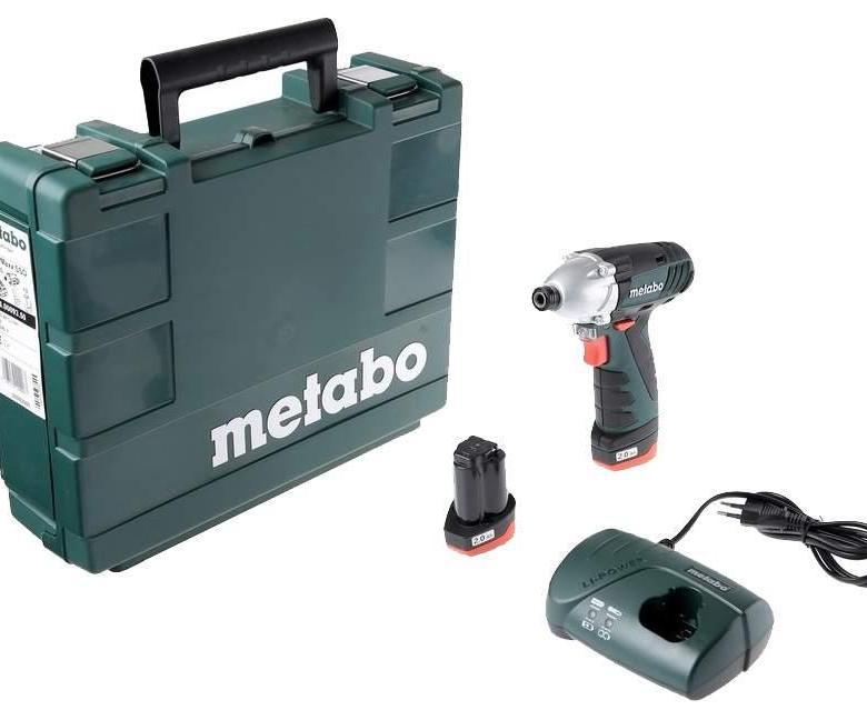 Metabo POWERMAXX SSD 10.8 гайковерт