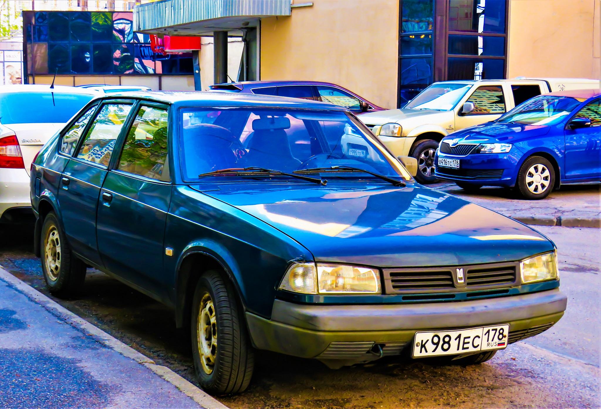Модели «Москвич-2141» выпускались под именем «Святогор»