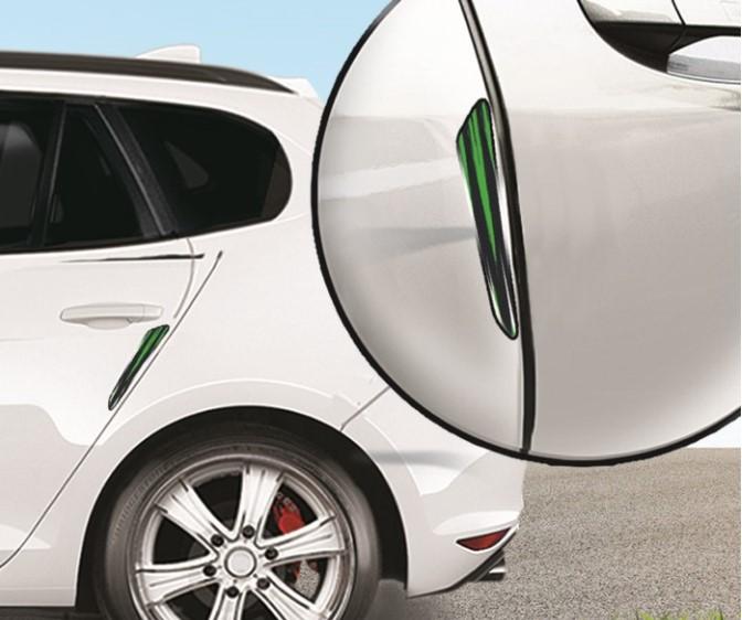Накладка на дверь автомобиля защитная «Зелёный»