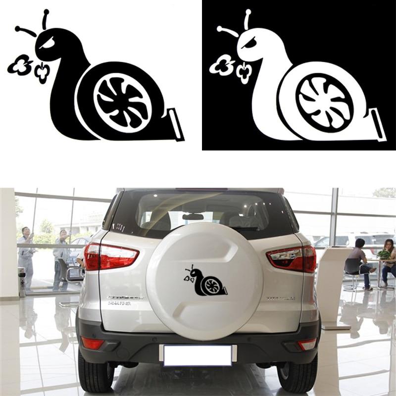 Наклейка на авто «Улитка Турбо»