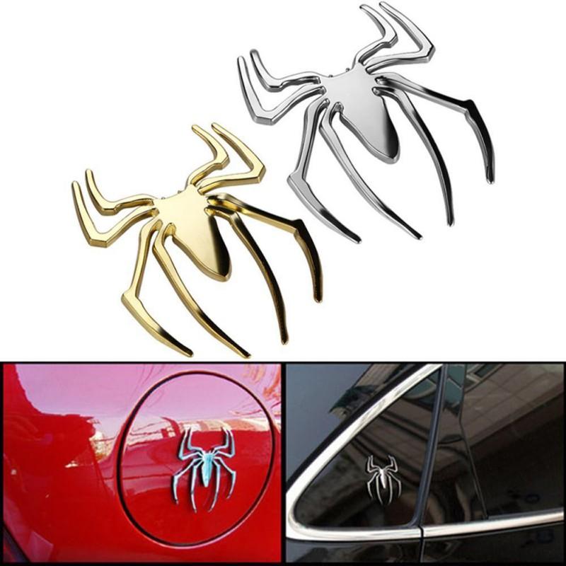 Наклейка «Паук» на машине