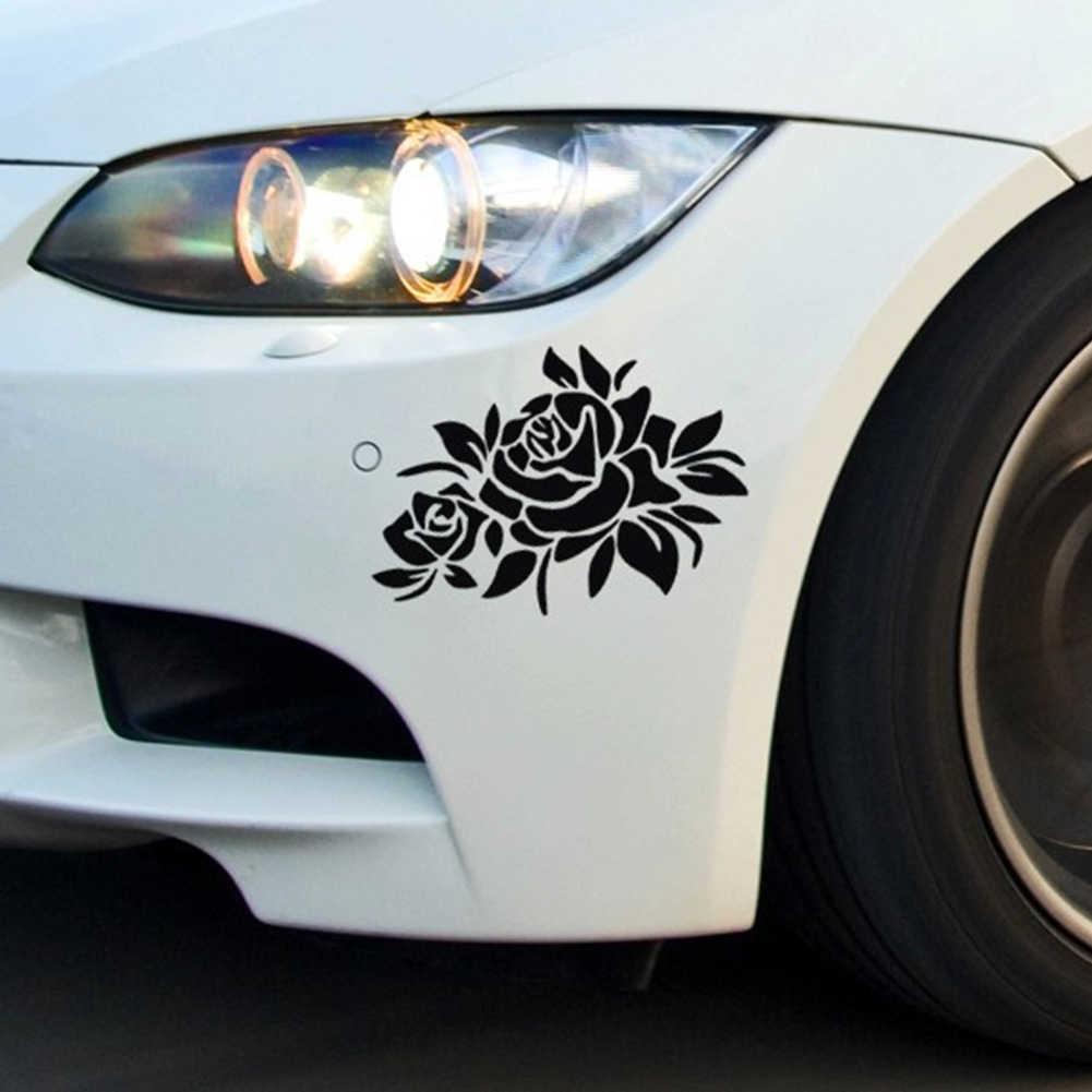 Наклейки для переднего и заднего бампера автомобиля