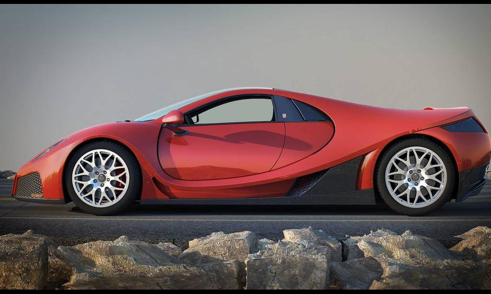 Новый автомобиль марки ГТА