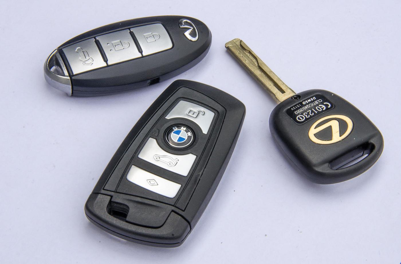 Программирование ключей авто
