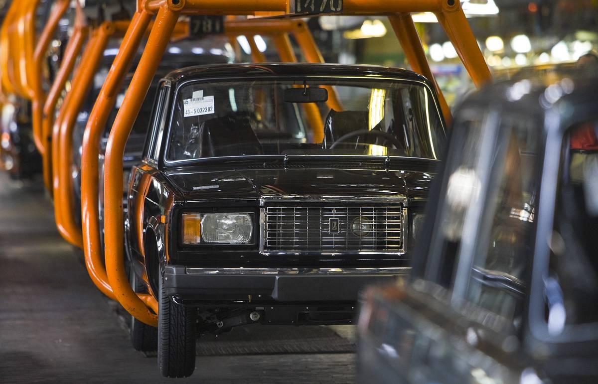 Производство ВАЗ-2107