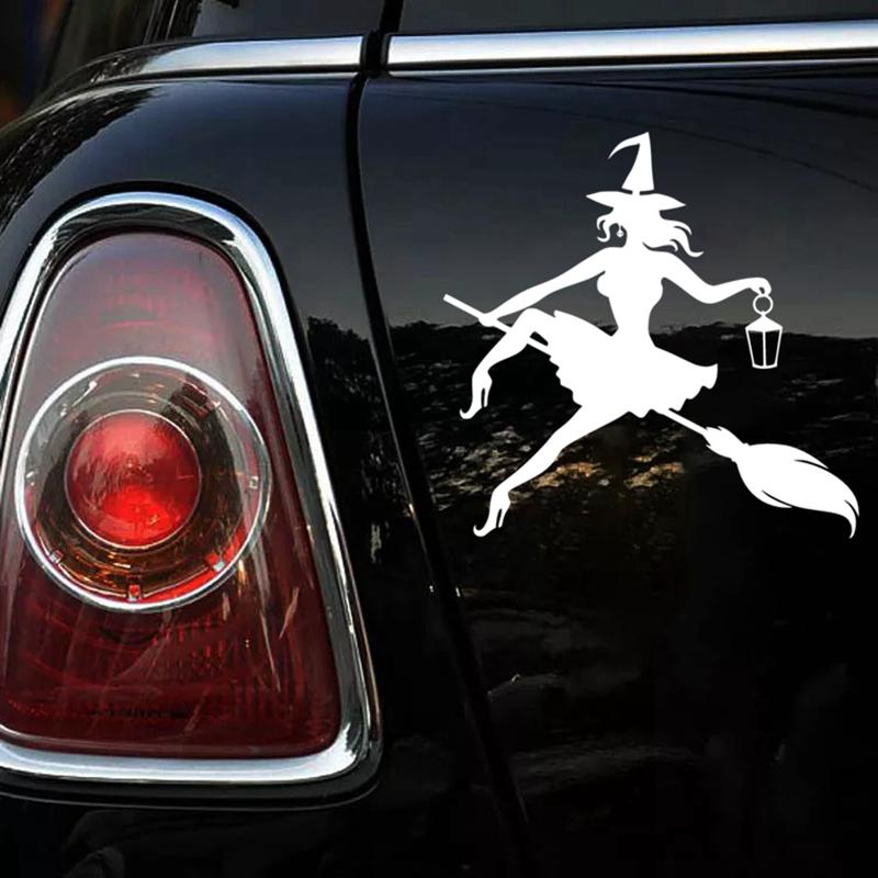 Ведьмочка – стикер на авто
