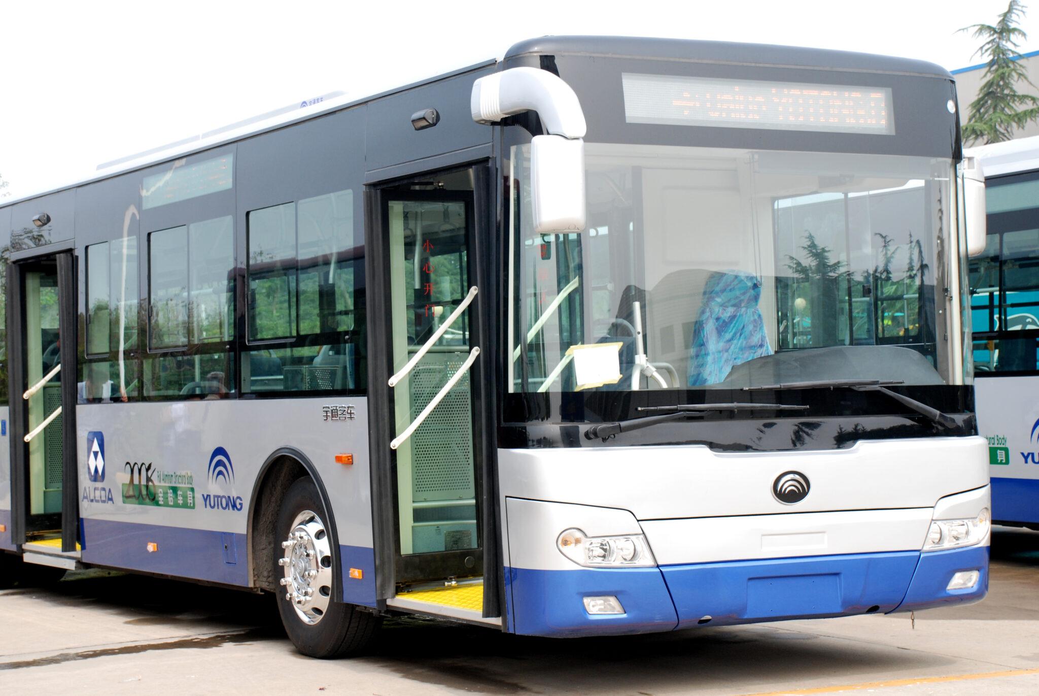 Ютонг автобус городской