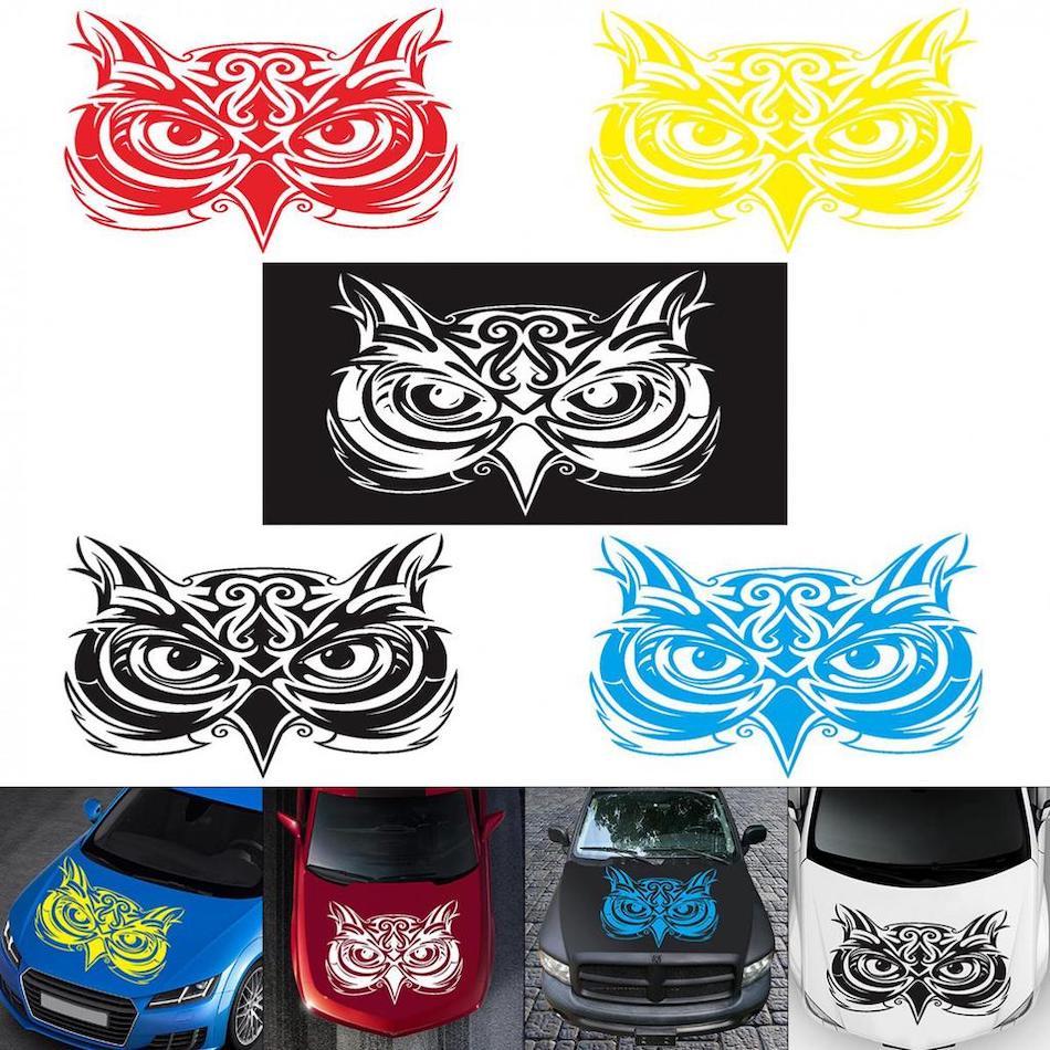 ПВХ-стикер на крышу автомобиля с собственным дизайном
