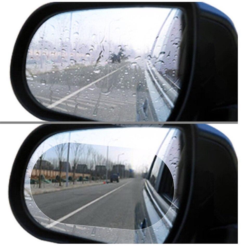 Гидрофобная пленка для зеркала заднего вида, непромокаемая