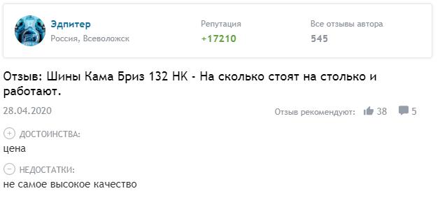 Кама Бриз 132 НК