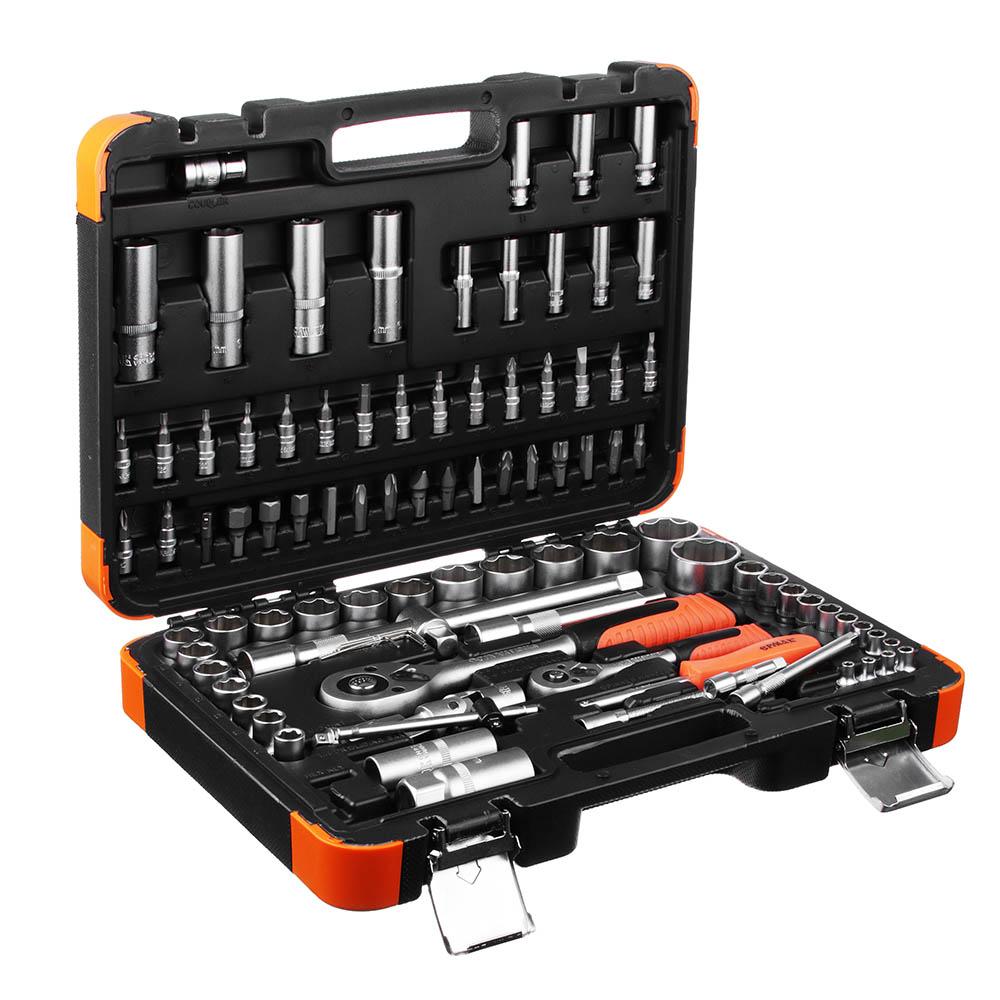 набор инструментов для авто в чемодане ермак