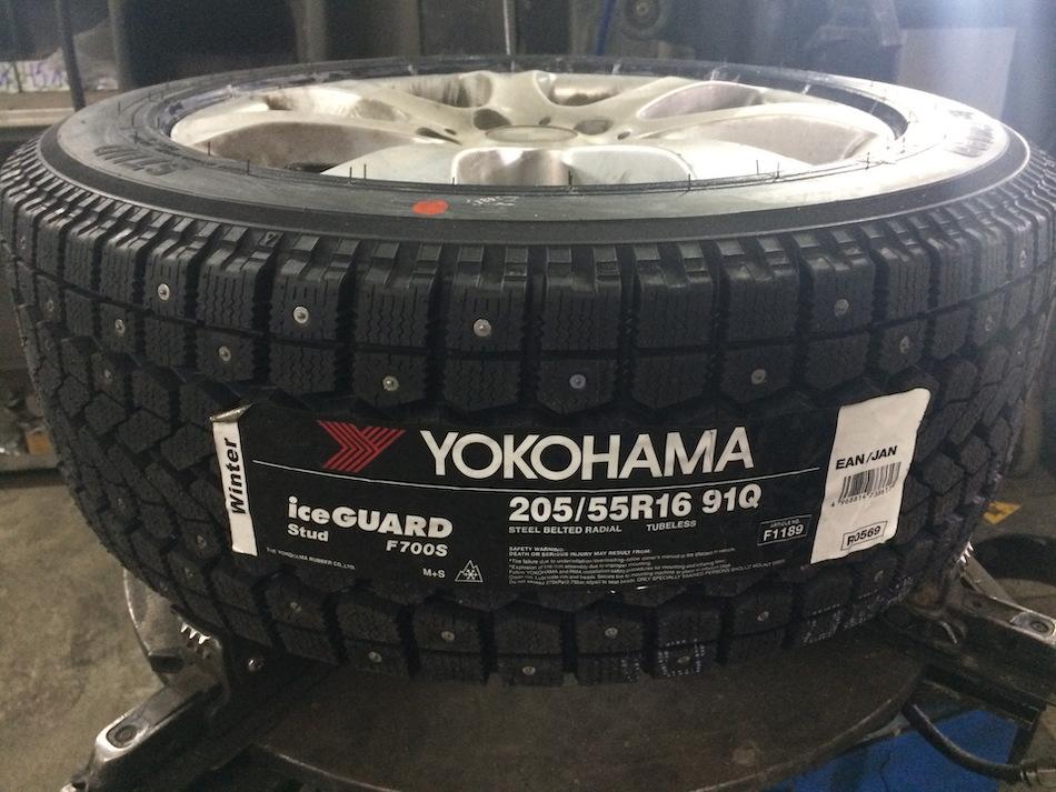 Yokohama Ice Guard F700S