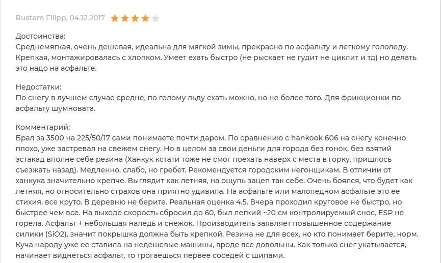Комментарий про Nexen Winguard Sport 2