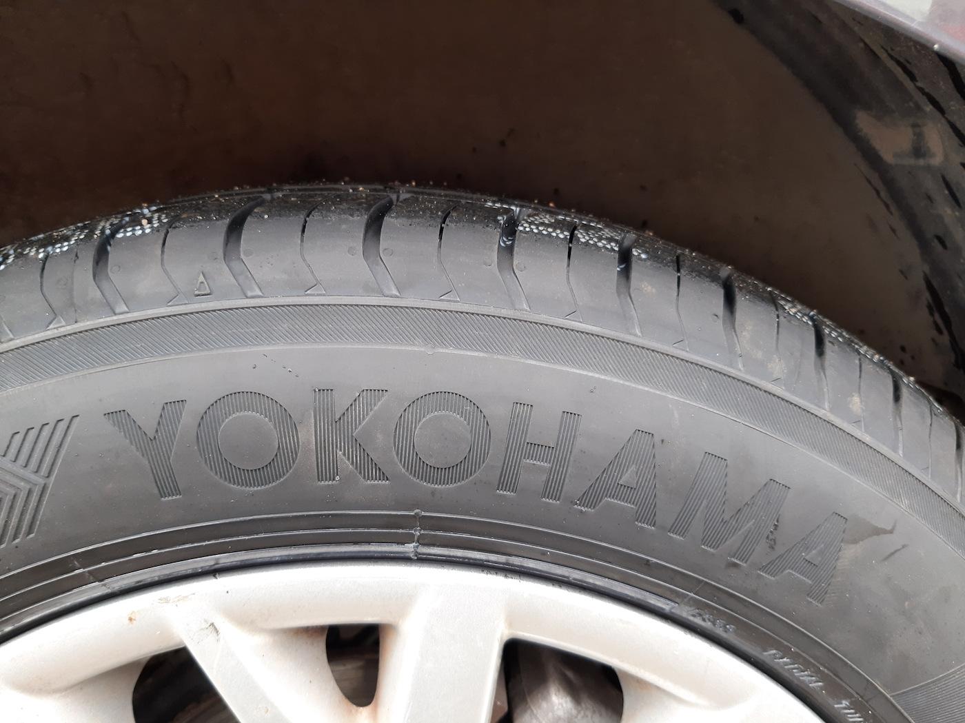 Yokohama резина
